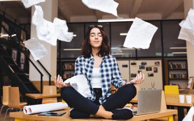 Técnicas de relajación para afrontar un examen