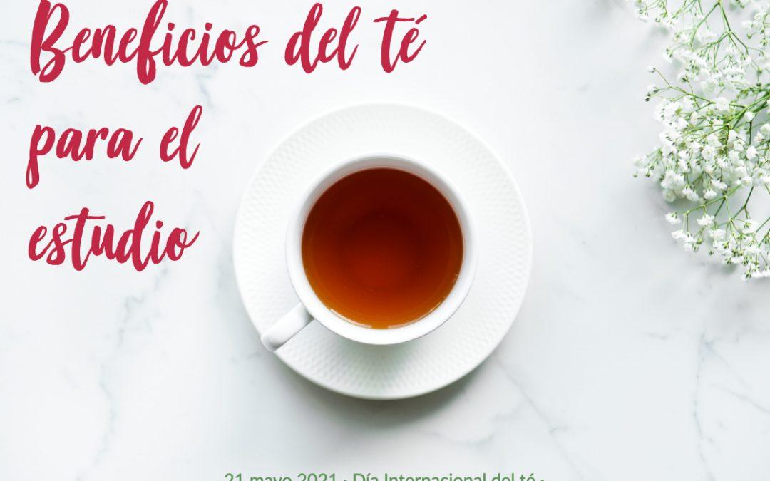 Beneficios del té para el estudio